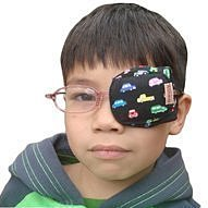 Altinway 弱視眼罩  戴在眼鏡片上 【左眼下標區】優惠價 幫助調整 弱視 斜視 兒童專用