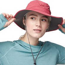 滿3000免運TheNorthFace雙和專賣店OR女抗UV中盤帽Solar Roller Sun Hat243442粉