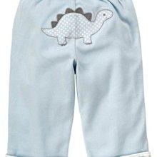 Ginny媽咪【Gymboree】官網正品男嬰小恐龍可雙面穿純棉長褲 6-12M 現貨