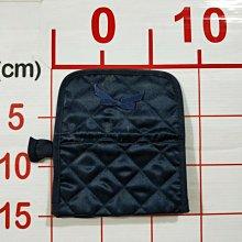 【二手衣櫃】泰國 NaRaYa 曼谷包 蝴蝶結 深藍色 化妝包 萬用包 經典緞面 收納包 零錢包 拉鍊包 1080423
