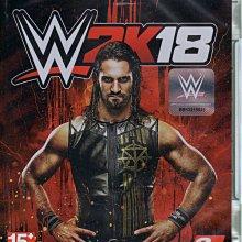 現貨中 XBOXONE 遊戲 WWE 2K18 美國勁爆職業摔角 英文亞版 【板橋魔力】