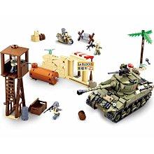 樂積木【現貨】第三方 謝爾曼坦克 790片 非樂高LEGO相容 英國 軍事 戰車 積木 人偶 二戰 美軍 雪曼 0713