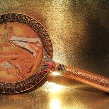 [ Vero 設計作品 手工採繪-法老豔后 手握鏡 ]--Egypt埃及古文明.@$1480【預訂品】