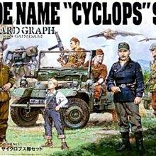 BANDAI 1/35 U. C. HARD GRAPH 第5彈 吉翁軍 獨眼巨人小隊套組 (0151919)