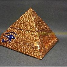 [Vero 設計作品 手工彩繪-針線盒 珠寶盒/上蓋下盒 ]眼睛(小) 金字塔 - 埃及古文明.【預訂品】$1480