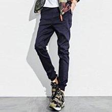 束口褲 Jogger極簡風格簡約素面縮口褲 【A88871】休閒褲 慢跑褲 青山AOYAMA