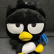 [絕版收藏]SANRIO正版授權非賣景品--酷企鵝絨毛玩偶口金包,附掛繩