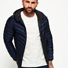 S.WET®現貨特價 極度乾燥 Superdry Micro Quilt 90%絨 羽絨 風衣 外套 輕量保暖 深藍