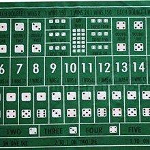 (雙面)比大小+德州撲克90*60CM聚會道具 買桌布送骰盅買一送一尾牙聚餐poker桌遊益智遊戲聯誼紅年菜麻將德州撲克