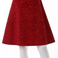 全新日本ef de紅色花紋裙子(同INED, ef-de,組曲,anayi,icb,23區,vicky)