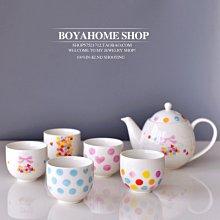 聚吉小屋 #熱賣#MAEBATA訂單anan系陶瓷可愛日式茶具花茶茶具套裝花草下午茶(價格不同 請諮詢後再下標)