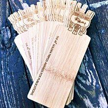 竹藝坊-造型切割.雷射切割.雕刻,造型書籤,竹製書籤,竹子撲克牌,薄書籤.許願吊牌(可客製)
