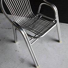 [ 晴品戶外休閒傢俱館]白鐵椅4張 戶外椅 庭園椅 休閒椅