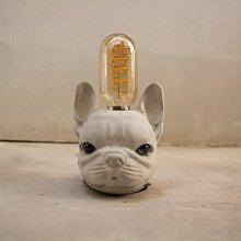 曙MUSE|可愛法鬥造型 USB 可調光 咖啡廳 民宿 餐廳 住家 工業 文青 手作 原創 擺飾桌燈