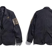 【MASS】2015 A/W Black Flag Suit Detective 軍裝  西裝外套 黑 S
