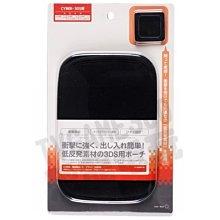 任天堂Nintendo 3DS NDSL NDSi Cyber吸震收納包(黑色)【台中恐龍電玩】