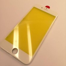 【保固半年】Apple iphone 6 螢幕 面板玻璃 純面板 玻璃 贈手工具 - 白色