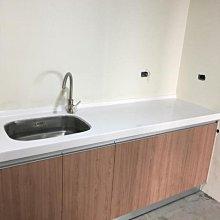 名雅歐化廚具200公分大陸石檯面+下櫃F1木心桶身+五面水晶門板
