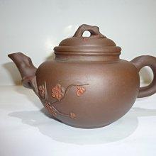 茶壺/紫砂壺/朱泥壺/早期雙色梅樁壺
