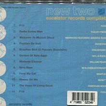 *真音樂* ESCALATOR RECORDS COMPILATION NEW TWO 全新 K26100