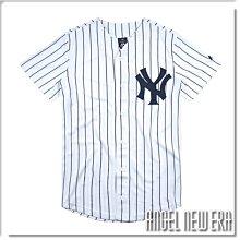 【ANGEL NEW ERA】MLB 球衣 NY 紐約 洋基 球衣 Majestic 線條 球迷版 吸濕 排汗 速乾