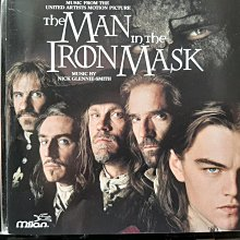The Man In The Iron Mask,鐵面人電影原聲帶。