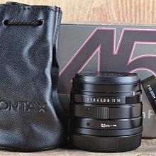 【品光攝影】CONTAX Planar T* Carl Zeiss 45mm F2 黑 G45 G鏡 #47820