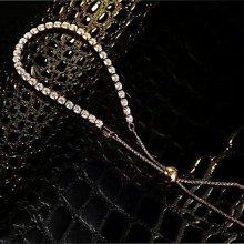 手鍊控高碳鑽925銀包厚白金特價廣告品時尚搭手錶鑽石十星十箭手鏈女款 閃亮特殊功能飾品 送女友愛人禮物莫桑鑽寶超取付款 免運費 購物愉快 有保障