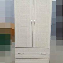 樂居二手家具 全新中古傢俱賣場 NH1122BJG3*全新康乃馨單人衣櫃 衣櫥 收納櫃*庫存臥室家具拍賣床組床墊床架書桌