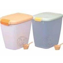 【🐱🐶培菓寵物48H出貨🐰🐹】IRIS《飼料桶/零食密封箱10kg》顏色隨機↓限量 特價699元(限宅配)