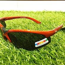 《APEX》偏光運動太陽眼鏡/防眩光墨鏡/抗UV/過濾紫外線及強光/寶麗來偏光鏡片(橘)
