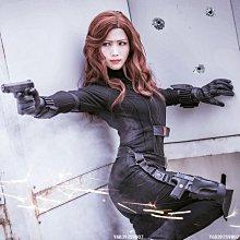 【可開發票】美國隊長3內戰 黑寡婦cos 娜塔莎cosplay服裝[Cos-精選]