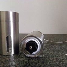 磨豆器 大小二款 304不銹鋼 輕量便攜式 極簡全素面 手搖磨豆機 陶瓷磨豆機 咖啡磨豆機 陶瓷錐形磨盤