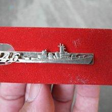 早期---海軍146艦隊贈---領帶夾----軍艦