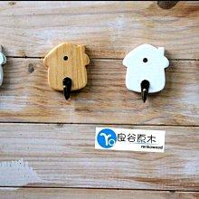 〝良谷原木〞小房屋掛勾+鑰匙壁掛架+田園壁掛架