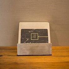 曙muse|素面 梯形 水泥 咖啡廳 民宿 餐廳 住家 工業 文青 手作 原創 擺飾 名片夾 手機架