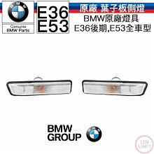 BMW原廠 3系列 E36 X5 E53 葉子板側燈總成 側燈 林極限雙B