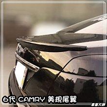 ☆車藝大師☆批發專賣 TOYOTA 6代 6.5代 CAMRY 美規 尾翼  擾流板 大包 空力套件