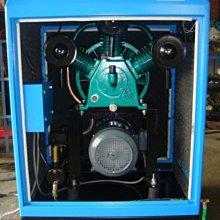 箱型靜音空壓機 5HP.3相. 220V 8kg/cm2適合家庭代工.夜晚加班...耐用不吵
