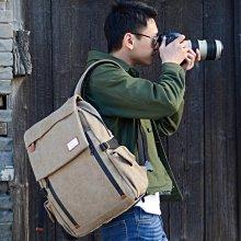 相機包BESNFOTO帆布單反相機包專業防盜防水戶外數碼旅游男女雙肩攝影包