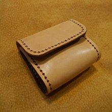 KH手工皮革工作室 MIT牛皮零錢包 小錢包 客製零錢包 台灣製造全手工皮件 零錢皮夾 牛皮訂製零錢包 錢袋 台中