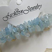 ♥精品百貨♥ 漂亮天然雙層海藍寶水晶髮飾~現貨
