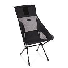 【台灣現貨 】Helinox Sunset Chair 輕量戶外高腳椅 全黑