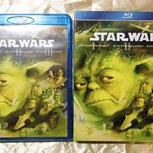 Star Wars I II III 星際大戰前傳三部曲 威脅潛伏 複製人全面進攻 西斯大帝的復仇 3BD