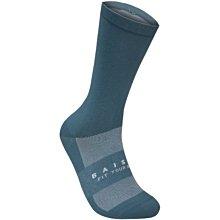BAISKY百士奇自行車運動襪 樸素 藍灰