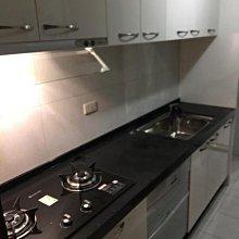 名雅歐化廚具250公分石英石檯面+上櫃F1木心桶身+下櫃F1木心桶身+五面封結晶門板