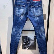 現貨【DSQUARED 2】2020春夏 水洗膝蓋色塊COOL GUY牛仔褲 *50%OFF*