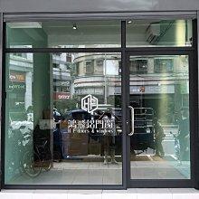 【鴻飛鋁門窗】店面門 鋁隔間