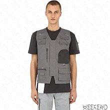 【WEEKEND】 C2H4 Workwear Utility Chemist 化學製品 上衣 背心 灰色