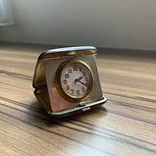 收藏分享文—Vintage box's Birmingham 1927年黃色琺瑯純銀旅行時鐘(收藏品)不銷售